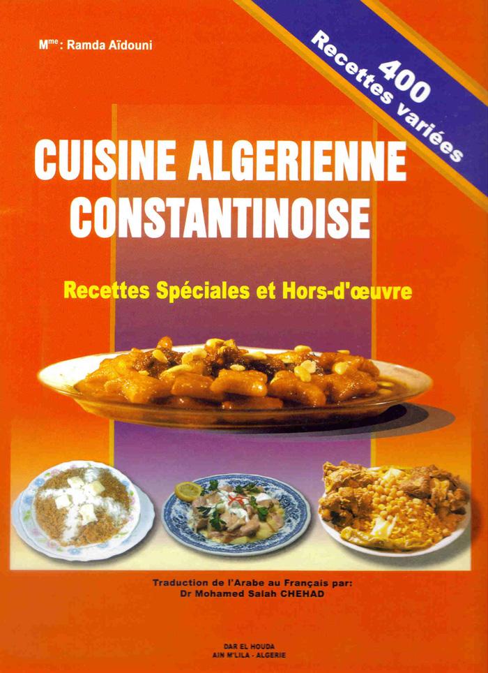 Merci son auteur et son diteur for Notre cuisine algerienne